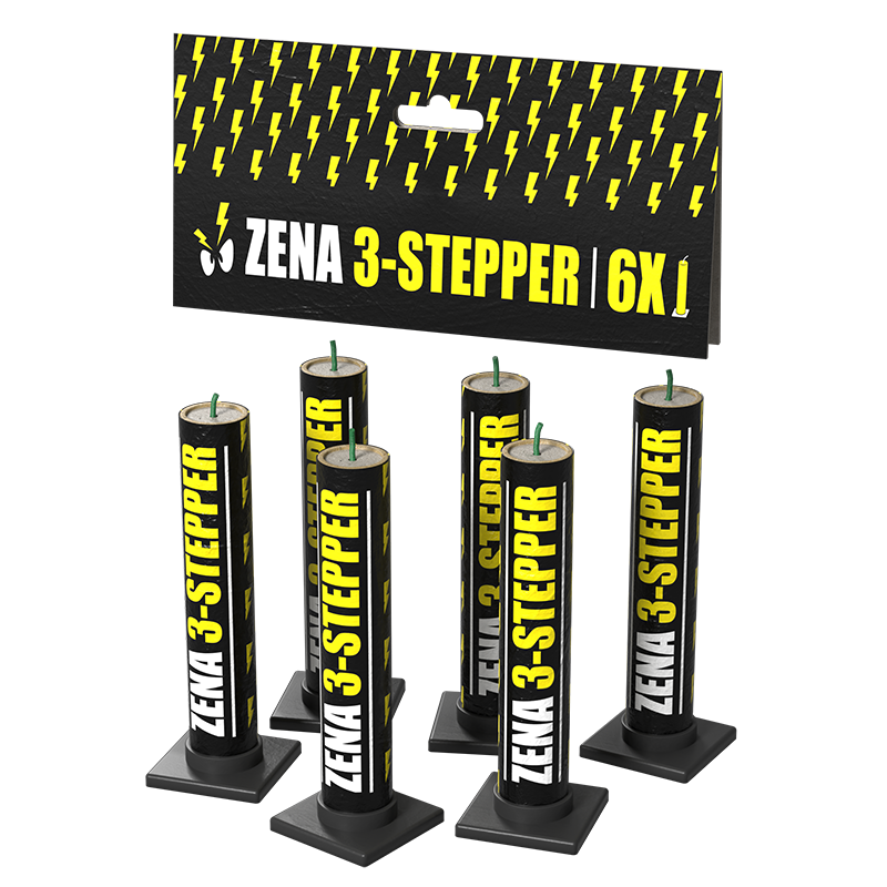 NEW Zena 3-stepper