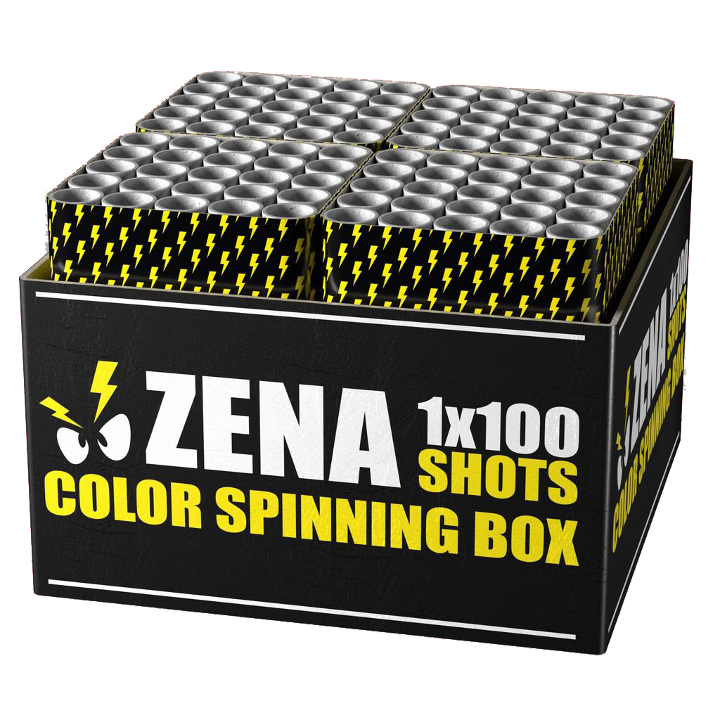 NEW Zena color spinning box