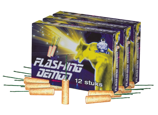 Flashing Demon 3x12 stuks