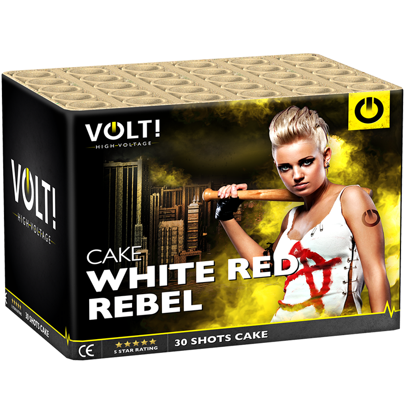 VOLT! White Red Rebel