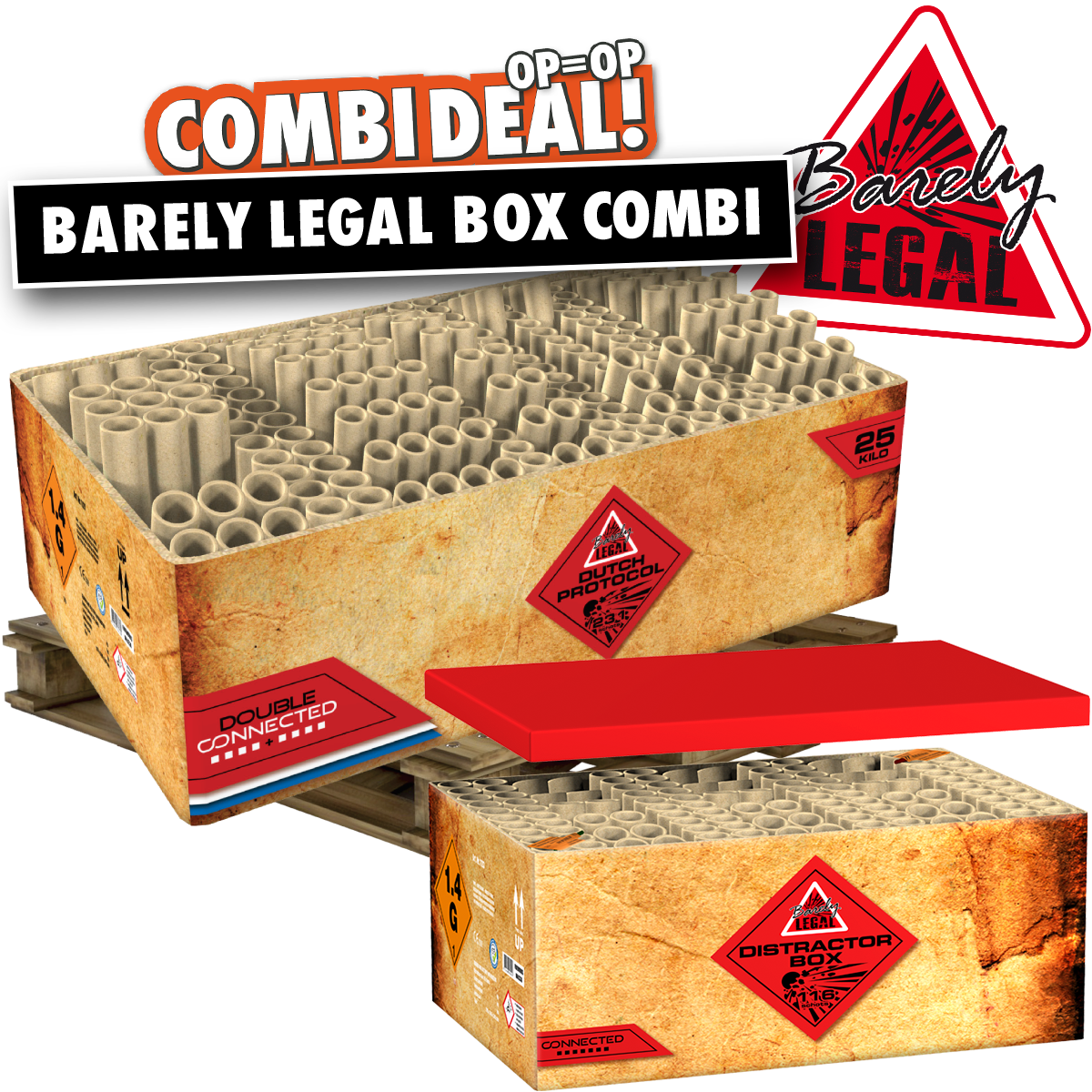 Combi deal Barely legal box combi