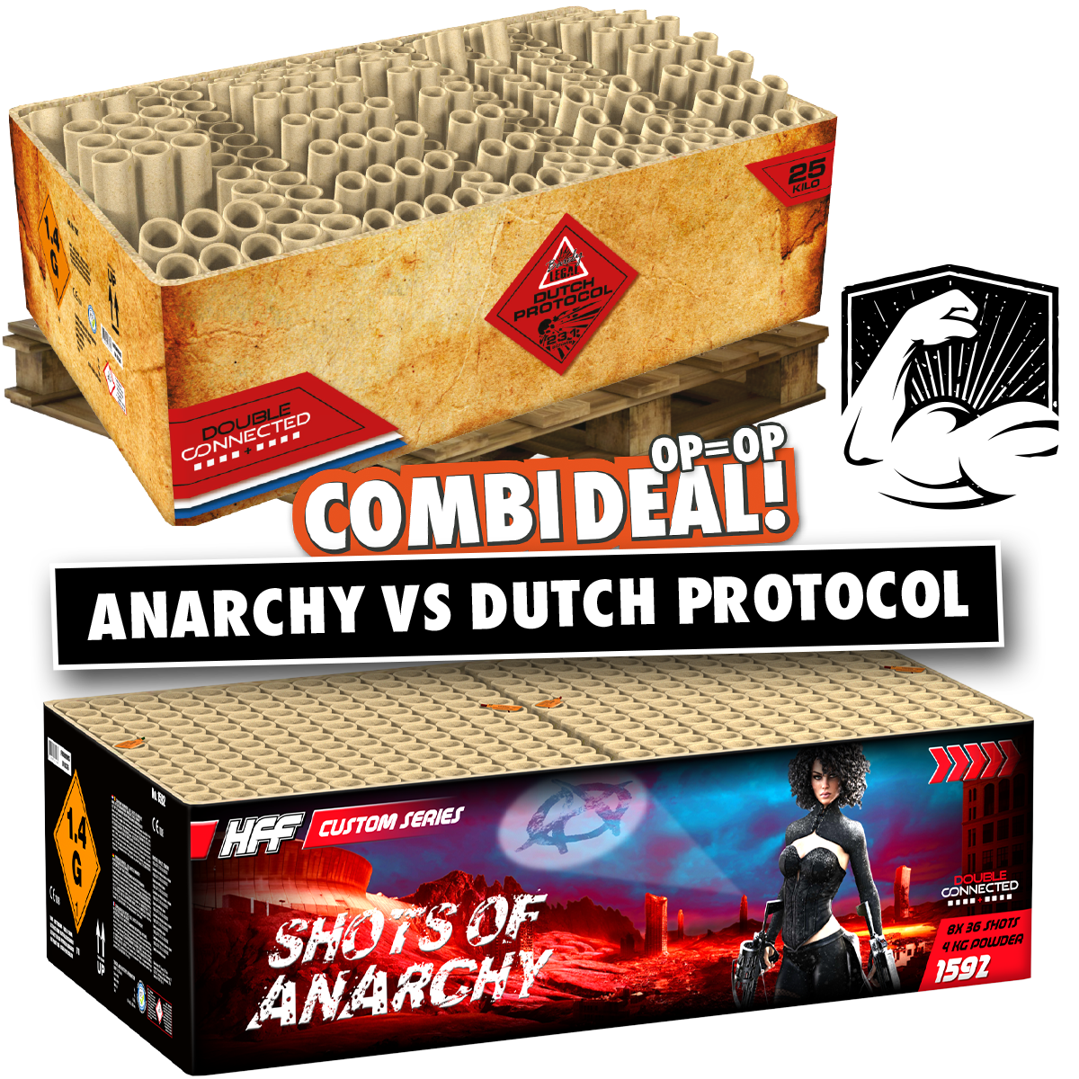 Combi deal anarchy vs dutch protocol
