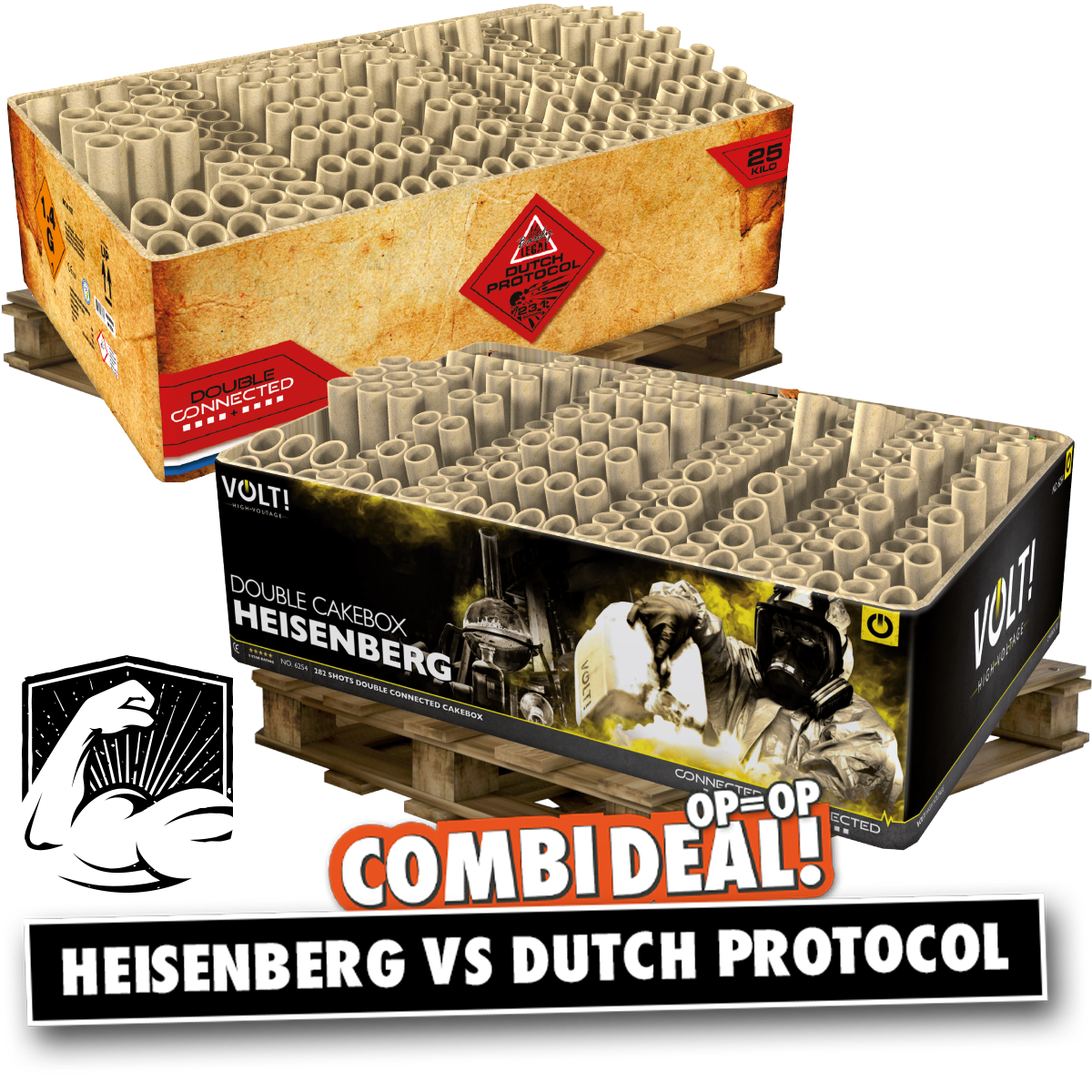 Combi deal Heisenberg vs dutch protocol
