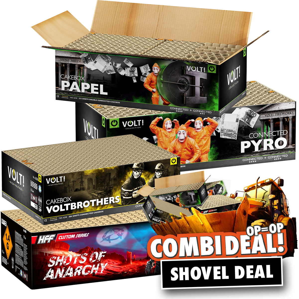 Combi deal Shovel deal