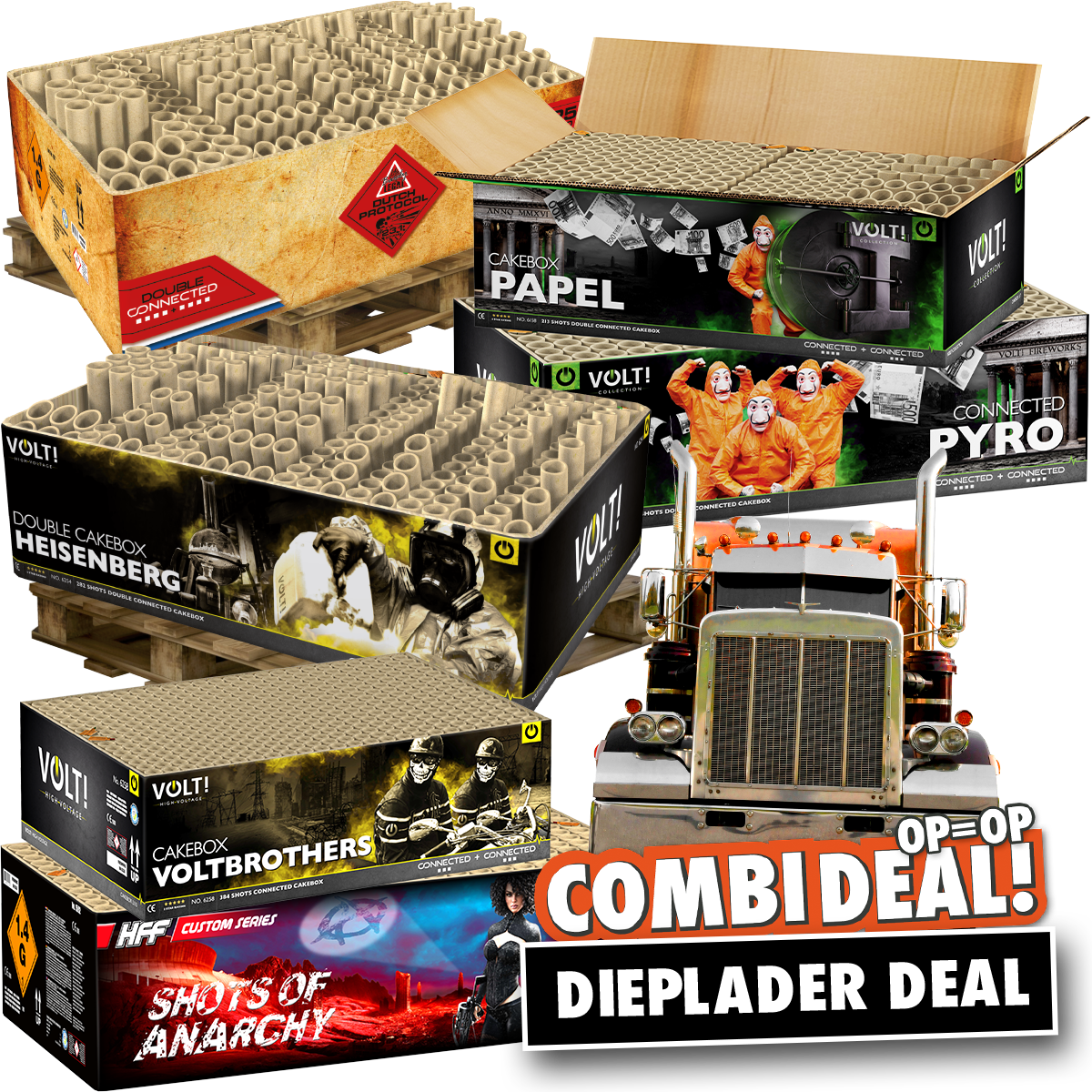 Combi deal dieplader deal