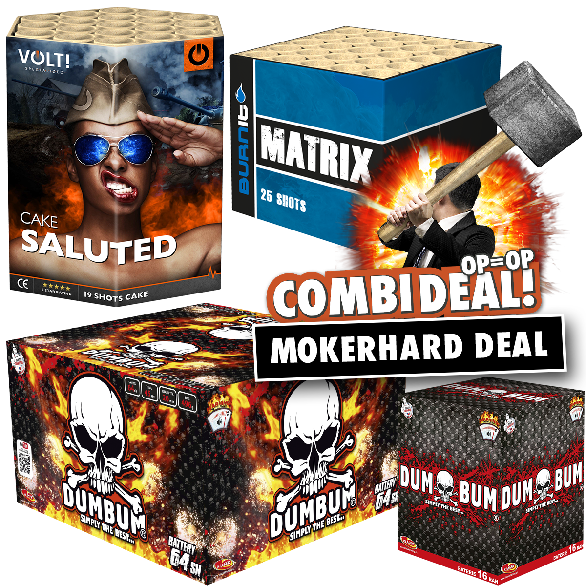 Combi deal mokerhard deal